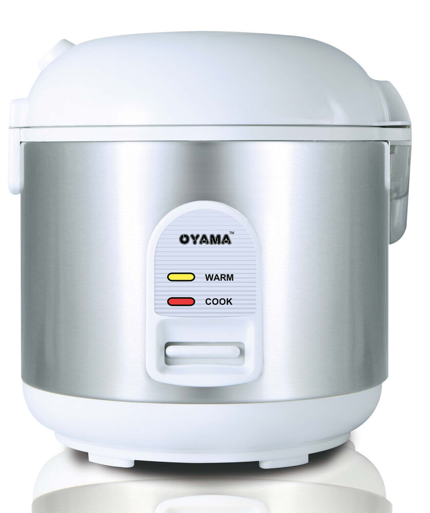 Oyama 5 Cup All Stainless Steel Rice Cooker Warmer Steamer Ebay