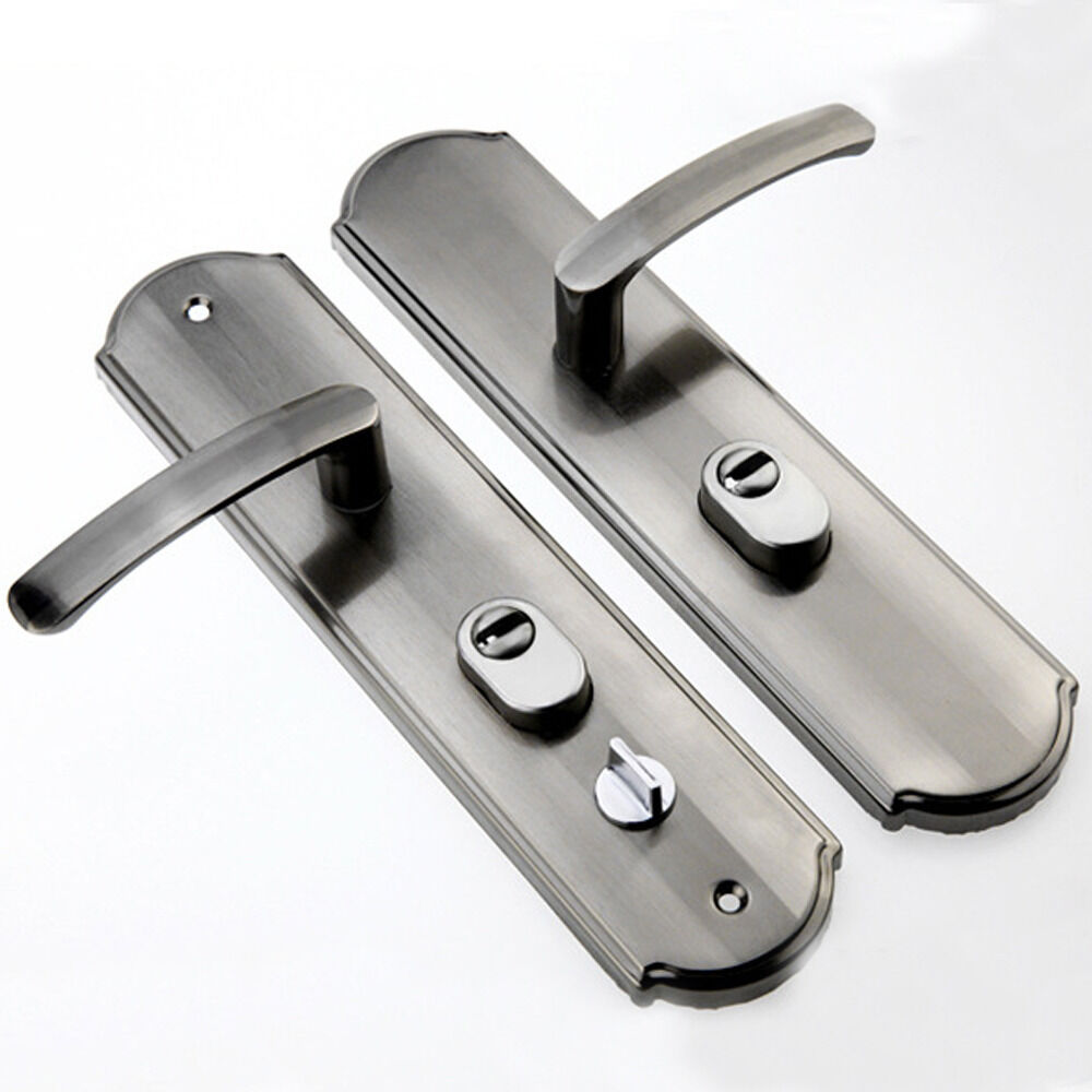 Lever Handle Lock : Simple popular lever door handles interior security