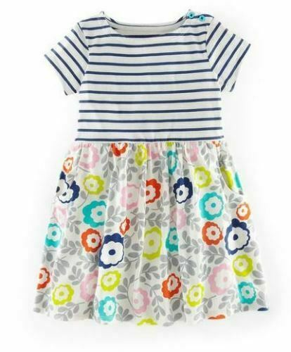 Mini boden girls hotchpotch jersey summer dress age 1 12 for Mini boden winter 2016