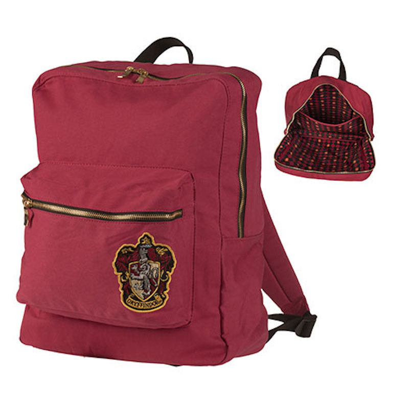 universal studios harry potter crest gryffindor backpack. Black Bedroom Furniture Sets. Home Design Ideas