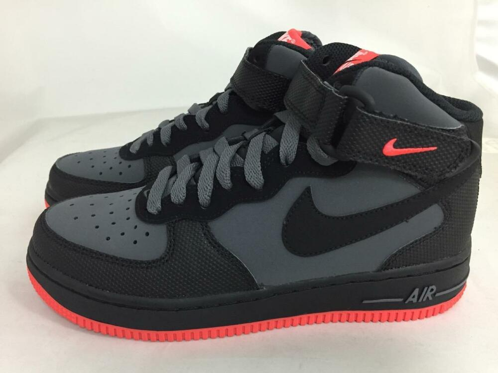 pretty nice 962a2 eb71d Details about NEW JUNIORS NIKE AIR FORCE 1 MID 314195-045