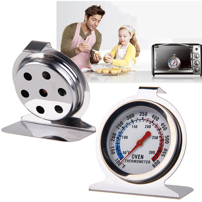 Cooker Temperature Gauge ~ Stainless steel oven cooker dial thermometer temperature