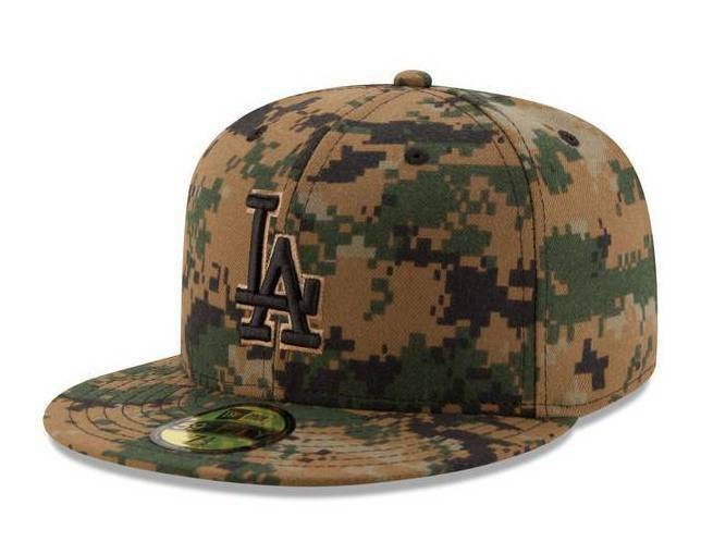 Details about Official MLB 2016 Los Angeles Dodgers Memorial Day New Era  59FIFTY Fitted Hat e27df209b0e