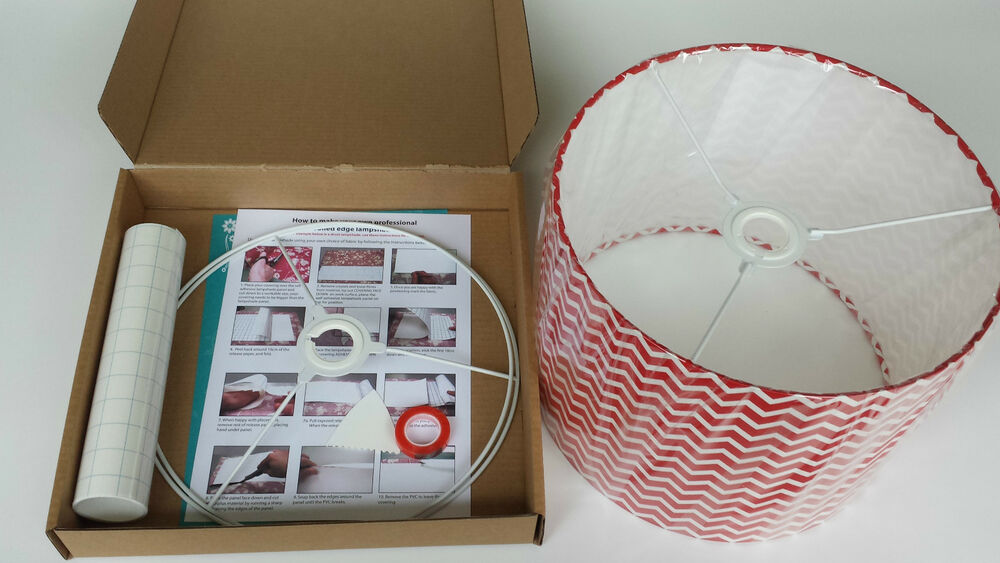 Lampshade Kit Shade Light 30cm Diy Making Drum Lamp 30cm EBay