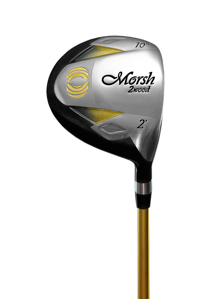 morsh golf fairway 2 wood 10 degree right handed golf club graphite shaft ebay. Black Bedroom Furniture Sets. Home Design Ideas