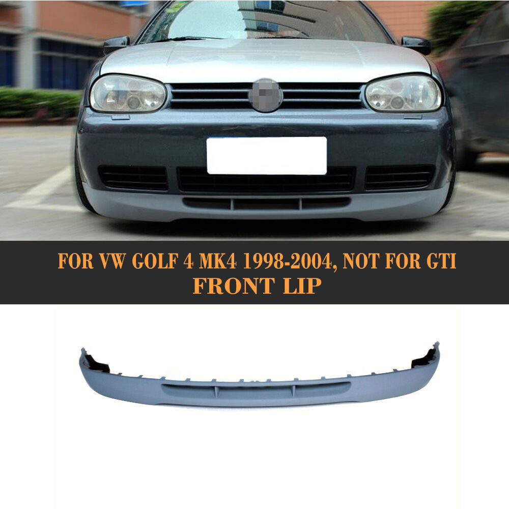 front bumper lip spoiler unpainted pu bodykits for 1998. Black Bedroom Furniture Sets. Home Design Ideas