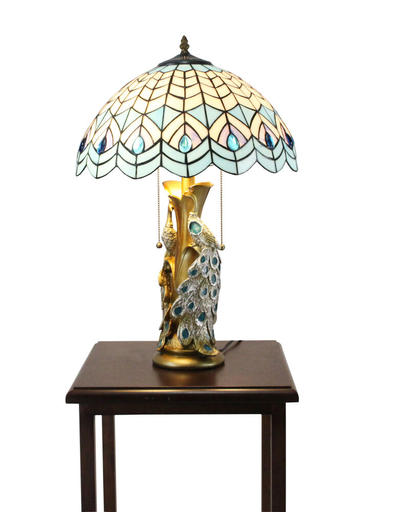 Tiffany Night Stand Lamp Tiffany Tabletop Light Fixture