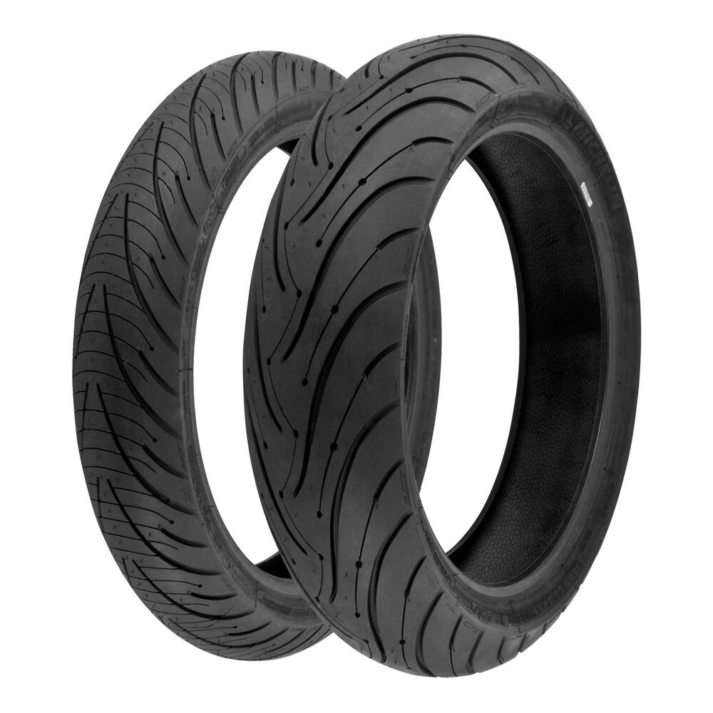 Michelin Pilot Road 3 120/70 ZR17 (58W) & 180/55 ZR17 (73W) Motorcycle Tyres | eBay
