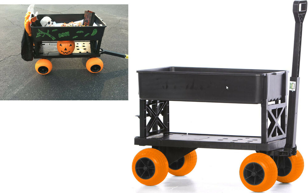 Four Wheeler Pulling Wagon : Sports beach carts for the dolly kart flatbed