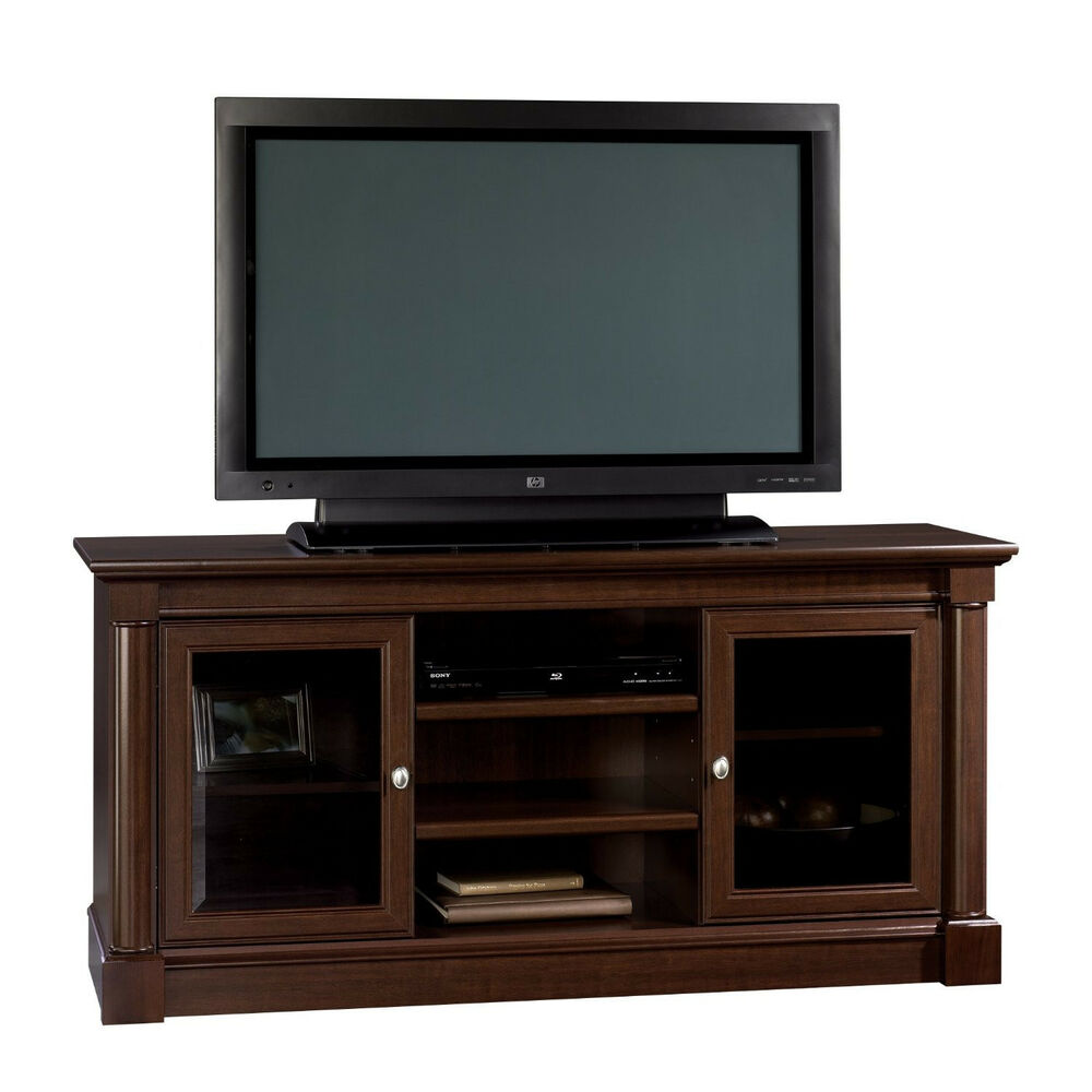 Sauder palladia entertainment credenza home decor furniture tv stand stereo new ebay Home furniture tv stands