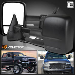 Kyпить 1999-2006 Chevy Silverado GMC Sierra Manual Extend Tow Side Mirrors Left+Right на еВаy.соm