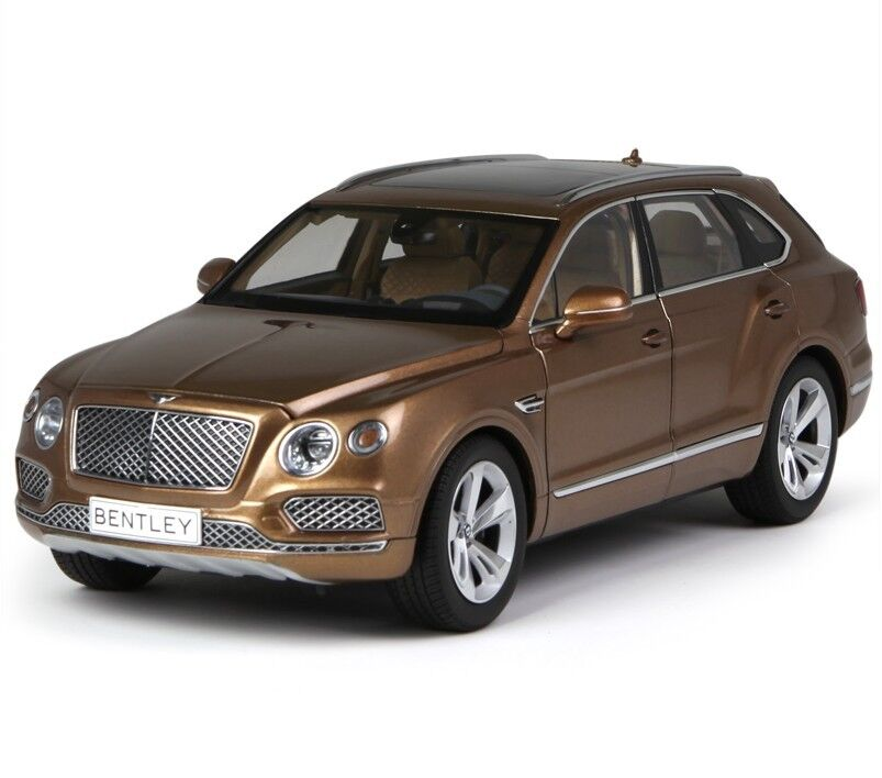 Bentley Bentayga: Kyosho 1:18 Bentley Bentayga Copper Color