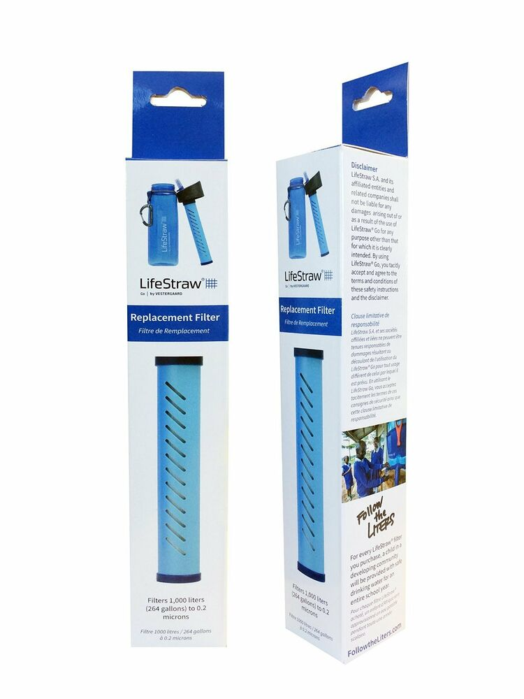 Lifestraw Go Bottle Replacement 1000 Liter Water Filter