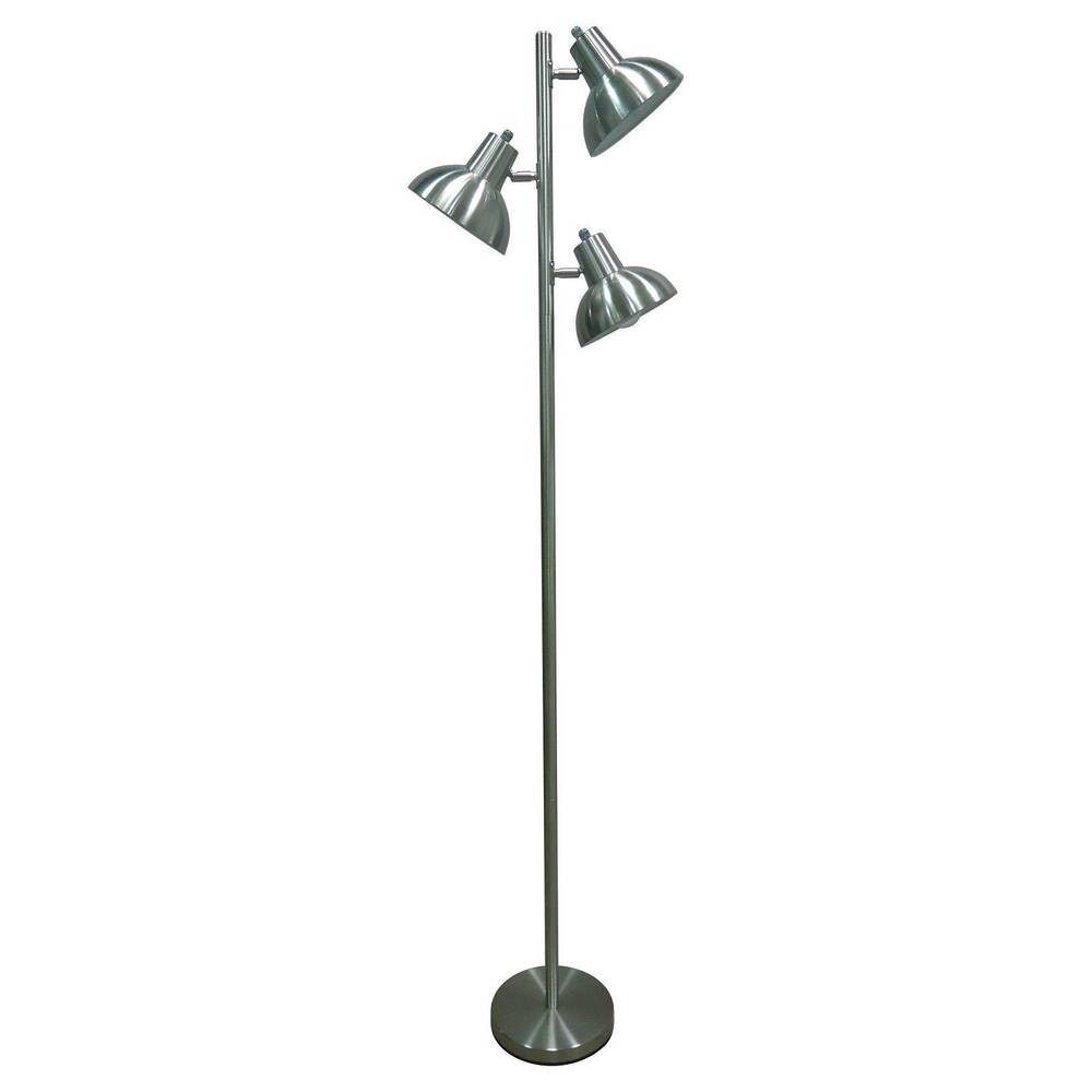 Tree floor lamp with metal shades thresholdtm ebay for Threshold floor lamp metal shade
