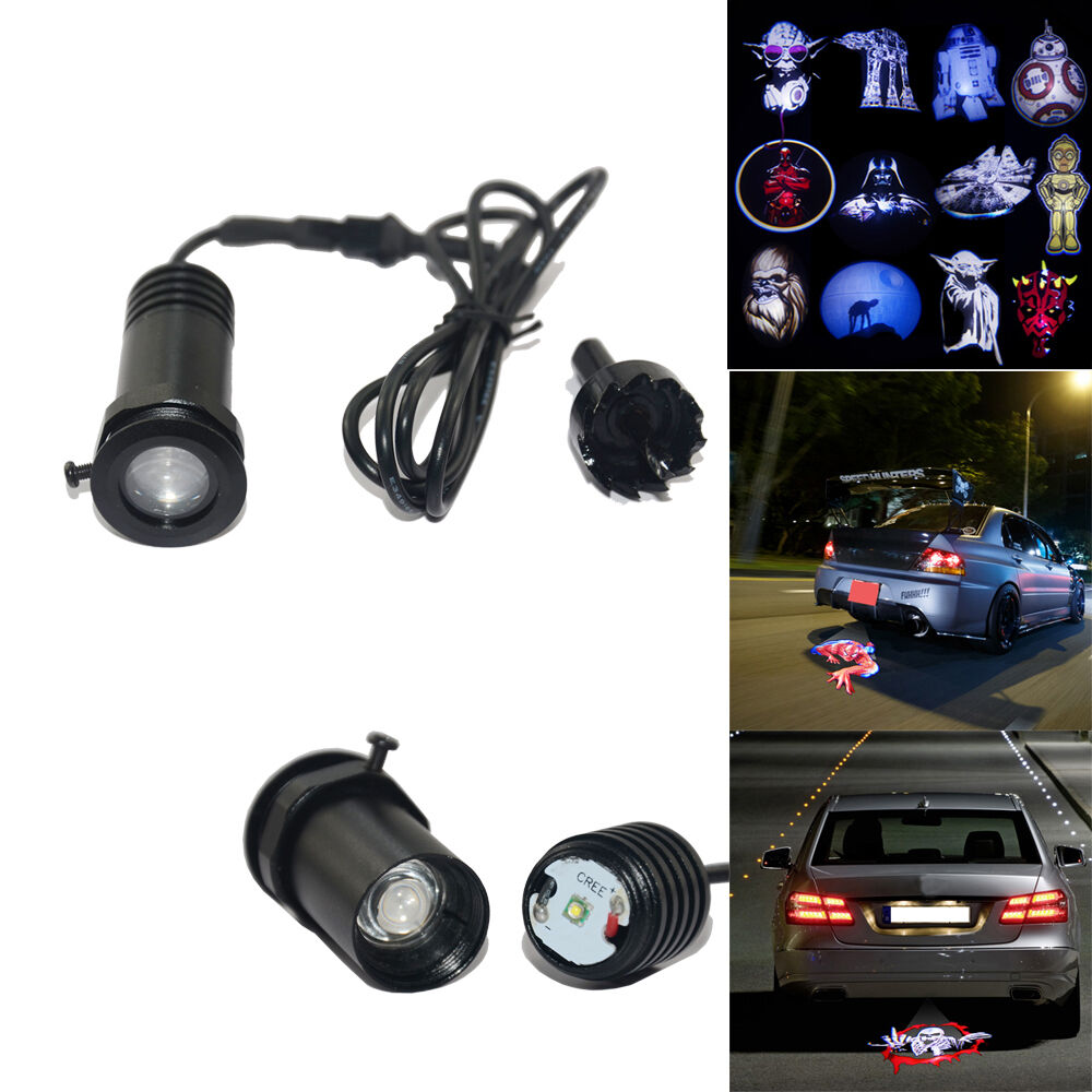 Car Ceiling Led Lights Stars : Star wars car cree safety led brake tail light ground logo
