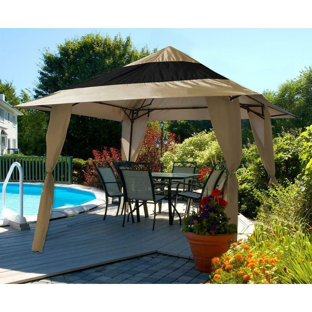 E Z Up Veranda 144 Ft Instant Shelter Shade Tent 12 X12