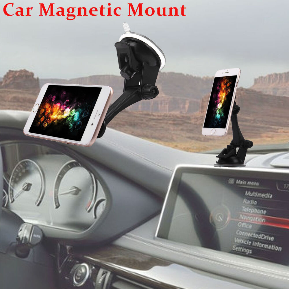 360 u00b0 car magnetic windshield dashboard suction mount