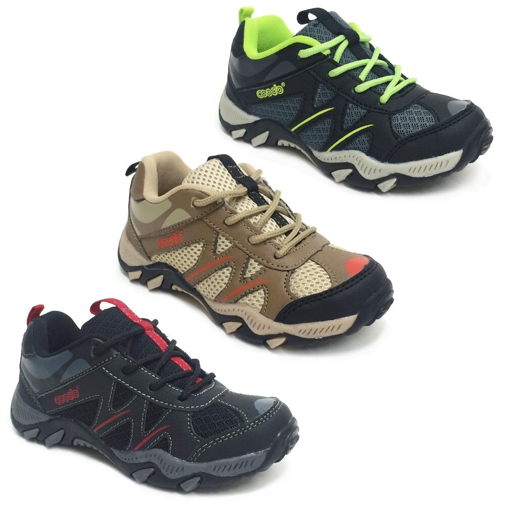 Kids Strap On Athletic Shoes