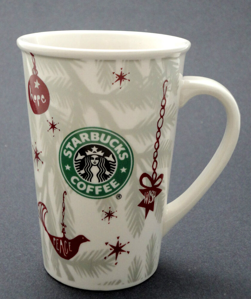 Coffee Mug Starbucks Ceramic Paper Cup 10oz Replica