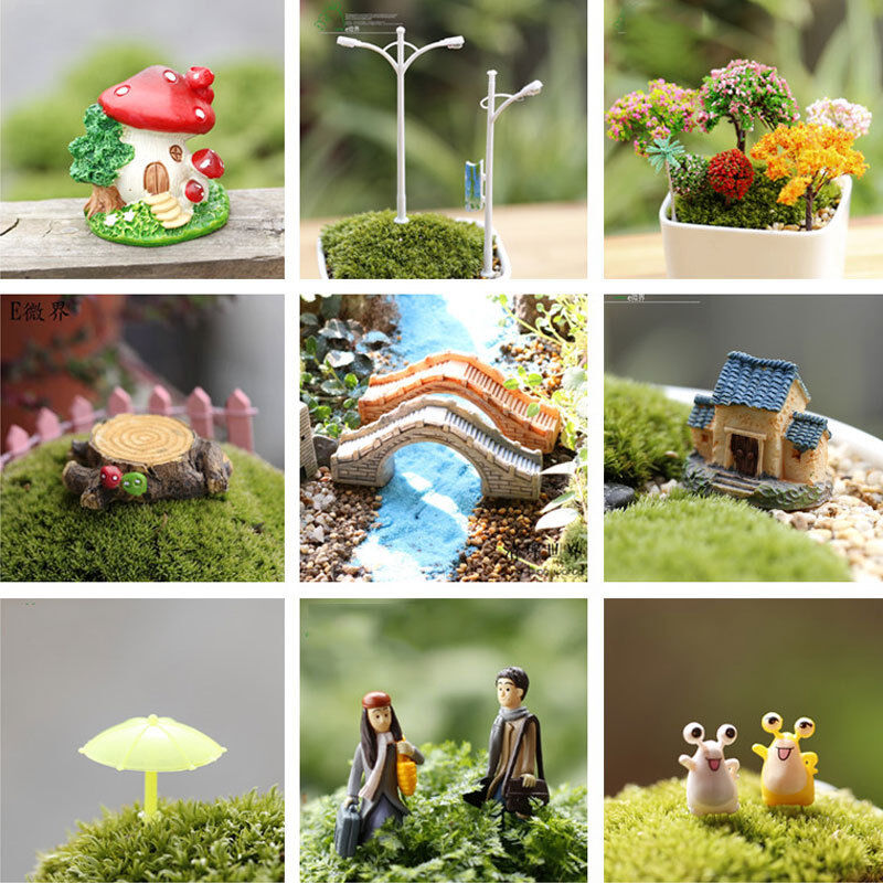 Buy Doll Furnishing Articles Resin Crafts Home Decoration: Resin Craft Plant Dollhouse Flower Tree Ornament Miniature