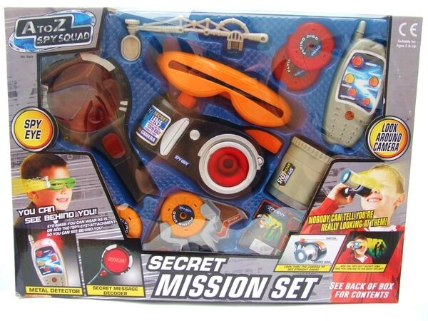 Best Spy Toys : Spy squad top secret agent mission set kids toy with