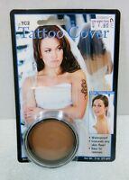 Mehron Tattoo Cream Cover TC2 Flaw Concealer, Birthmarks, Tattoos, Discoloration