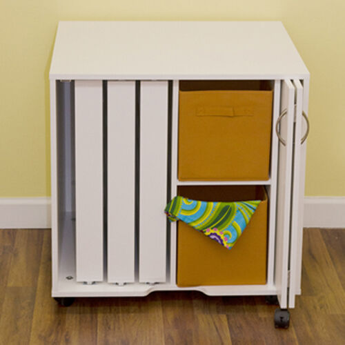 Arrow Cabinets Mod Thread Sewing Cabinet Table 2031 White