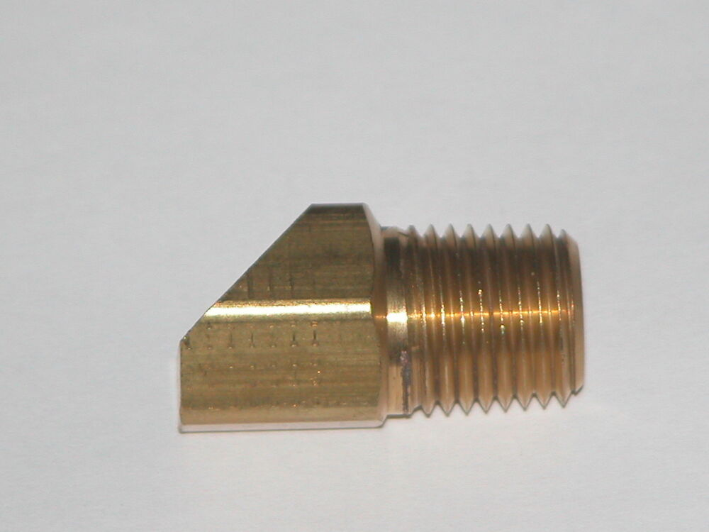 Quot pipe inverted flare degree brass fitting ebay