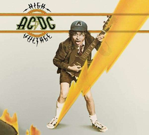 Ac/Dc - High Voltage LP Vinile EPIC