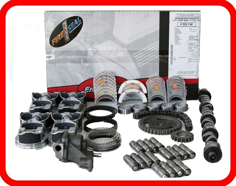 2004 chevy silverado suburban tahoe 325 5 3l v8 master engine rebuild kit ebay. Black Bedroom Furniture Sets. Home Design Ideas