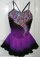 Figure Ice skating dress/Baton Twirling leotard/Tap/Dance Costume Made to Fit