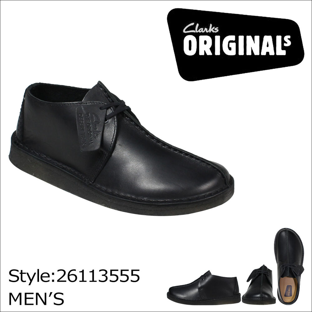 Clarks Shoes Men  Black