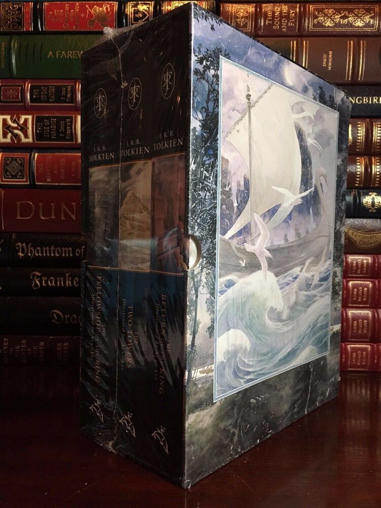 Lord Of The Rings Deluxe Book Set