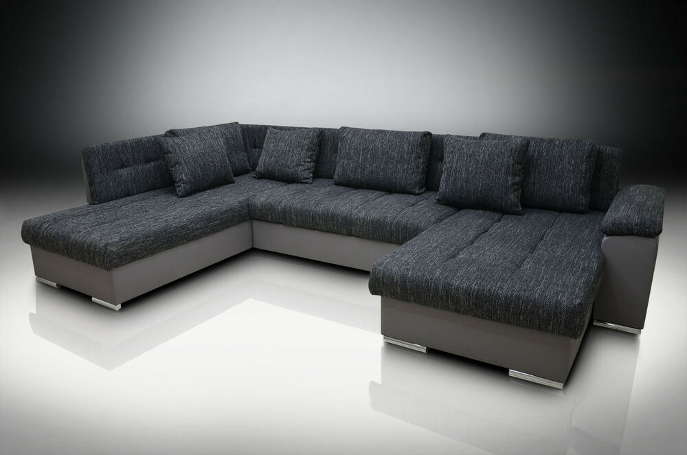 DOUBLE CHAISE CORNER SOFA BED ERIC RH, LARGE BEDDING PLACE