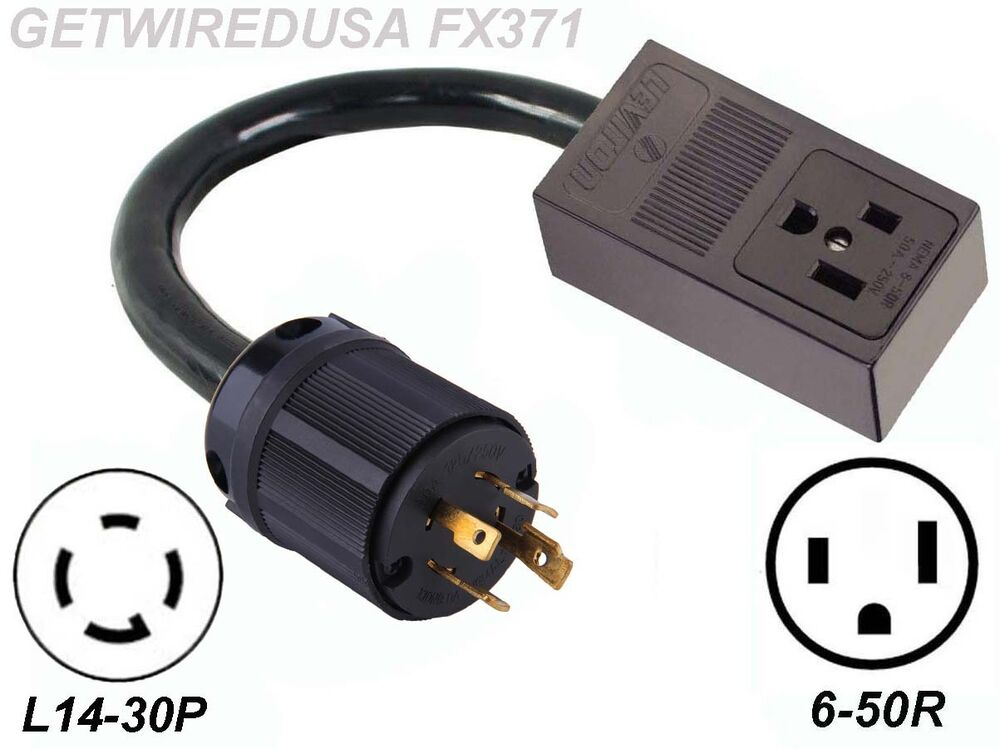 welder 3 prong 6 50r receptacle 4 pin l14 30p plug. Black Bedroom Furniture Sets. Home Design Ideas