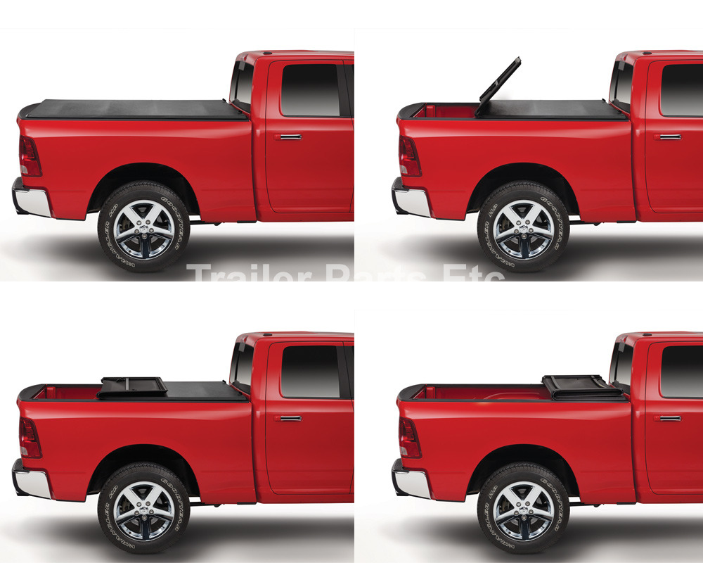 Tonneau Cover Pro Tri Fold For 1997 2004 Dodge Dakota 6 5