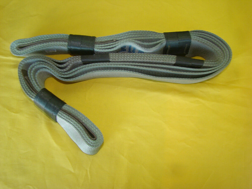 Vehicle Tow Straps : Artillery hoist strap webbing military cargo sling tie