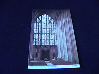 Hampshire Postcard Winchester CAthedral West Window