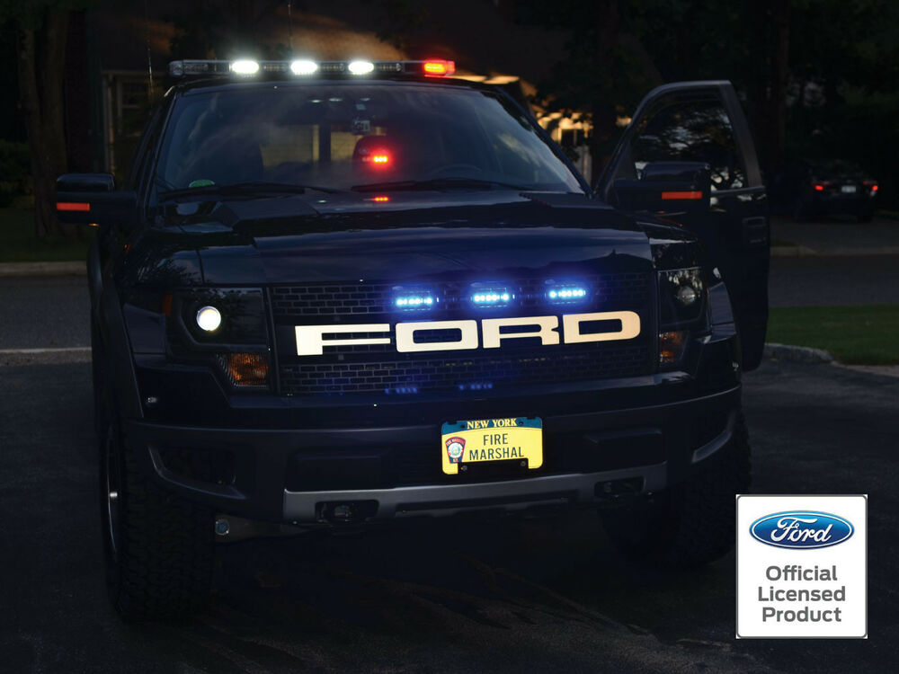 Ford Raptor F 150 Reflective Grille Letters Vinyl Decal