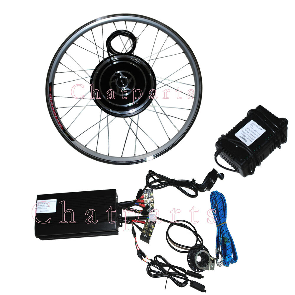 "Pd750 Electric Motor Kit: 26"" 48V 1000W Front Wheel Electric Bicycle Motor Kit"