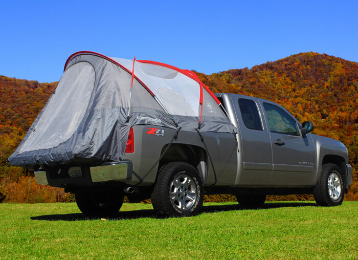 camp right full size crew cab pickup truck tent 5 5 39 bed. Black Bedroom Furniture Sets. Home Design Ideas
