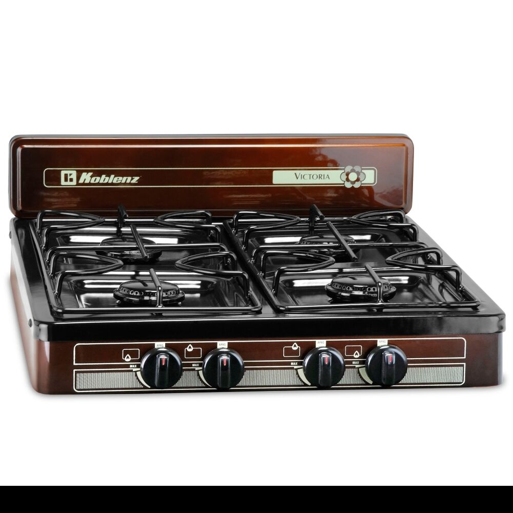 Propane Stove 4 Burner Lp Gas Grill Camping Backyard