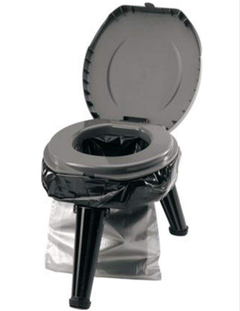 Portable Folding Toilet Collapsible Emergency Port A Potty
