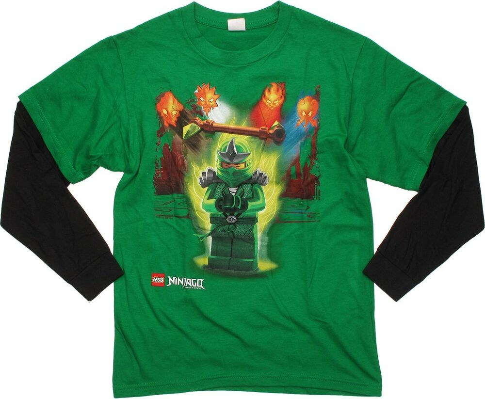 Lego Ninjago Green Ninja T Shirt Size 18 20 Xxl New Childs