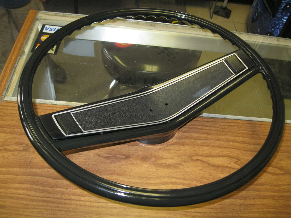 1969 1970 CHEVELLE SS MALIBU NEW BLACK STEERING WHEEL KIT