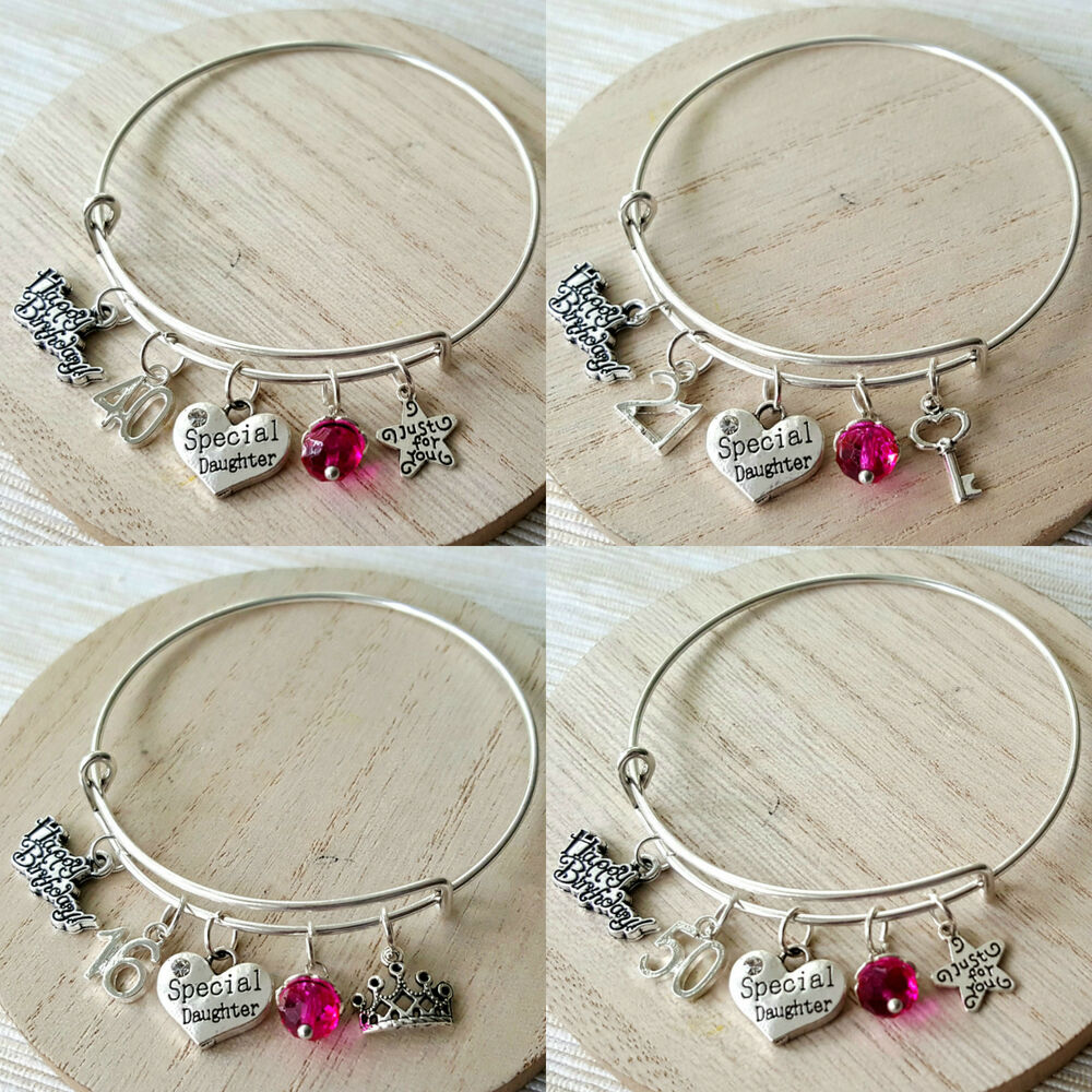 16th Birthday18th Birthday Gift18th Birthday Present By: Personalised BIRTHDAY Gifts Bracelet 13th 16th 18th 21st