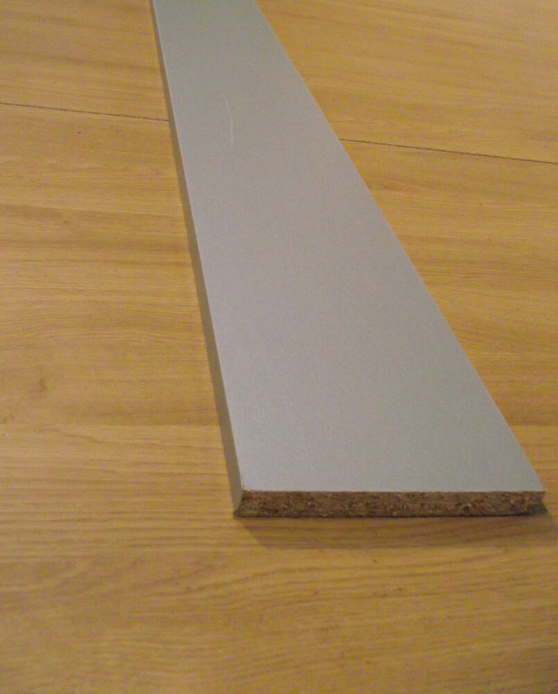 2x 2.8M MATT Silver / Steel / Aluminium EFFECT Kitchen PLINTH / KICK BOARD  | EBay