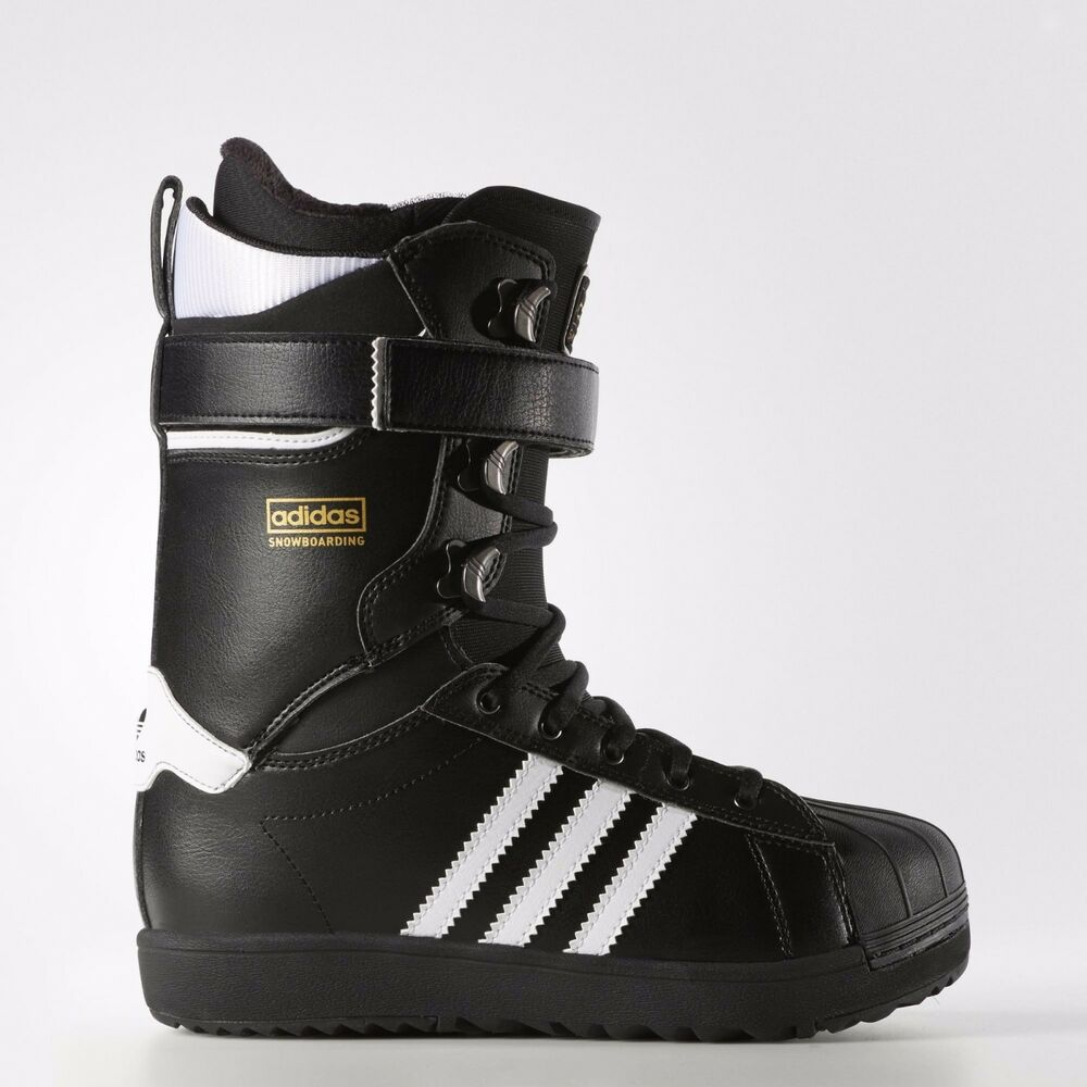 reputable site 73b58 2dc1b Details about Adidas Originals Superstar Snowboarding Boots S85651 RARE  Limited Edition