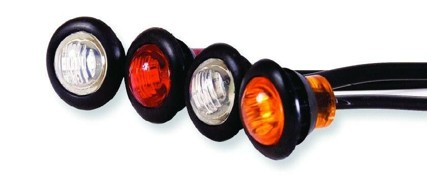 Super Bright 3 4 Quot Led Marker Lights Clearance Truck