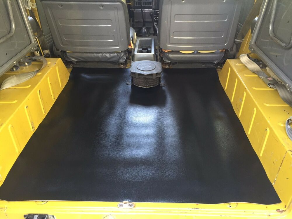 rear cargo floor mat for toyota land cruiser fj40 ebay. Black Bedroom Furniture Sets. Home Design Ideas